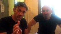 Rencontre avec Gilles Alma et Benoît Joubert au Festival d'Avignon