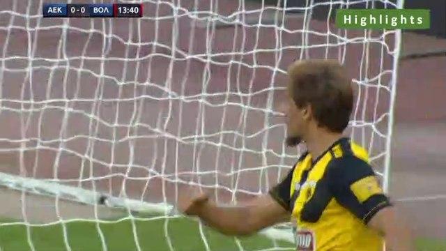 1-0 Francisco Geraldes Goal - AEK 1-0 Volos 20.07.2019