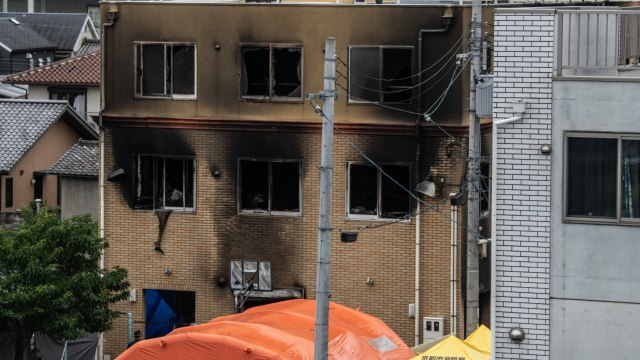 Suspect Who Burned Down Kyoto Animation Studio A Noisy, Nasty Gamer