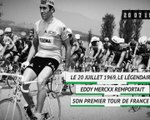 Il y a 50 ans - Eddy Merckx remportait son premier Tour