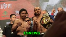 Manny Pacquiao vs Keith Thurman Who Won The Faceoff