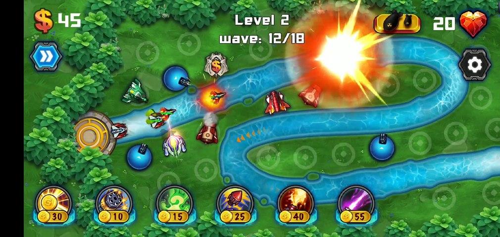 Tower Defense Galaxy Gameplay 2
