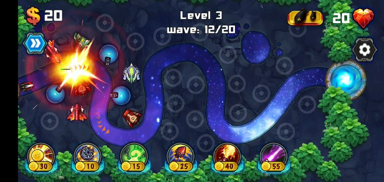 Tower Defense Galaxy Gameplay 3