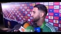 """Mahrez : """"Un grand merci au coach Djamel Belmadi"""""""