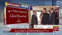 Prime Minister Imran Khan reached America