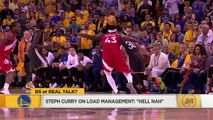 Steph Curry says 'hell nah' to the idea of load management _ BS or Real Talk _ The Jump
