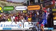 Tour de France : Thibaut Pinot et Julian Alaphilippe au sommet
