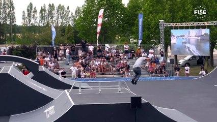 Jérémy Mélique   1st Semi Final - Roller Freestyle Park   FISE European Series, Châteauroux 2019