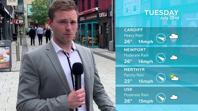 WEATHER: July 23rd 2019