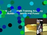 Full E-book The Strength Training Anatomy Workout II: Building Strength and Power with Free