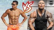 The Rock vs Cristiano Ronaldo - Transformation  From 1 To 45 Years Old