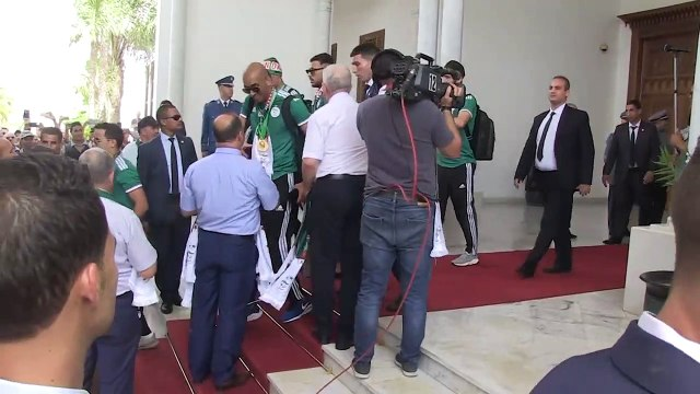 Algeria celebrate AFCON title with open-top bus parade