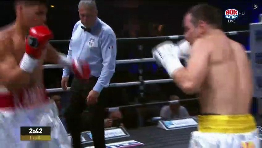 Louis Toutin vs Dmitrii Chudinov (20-07-2019) Full Fight