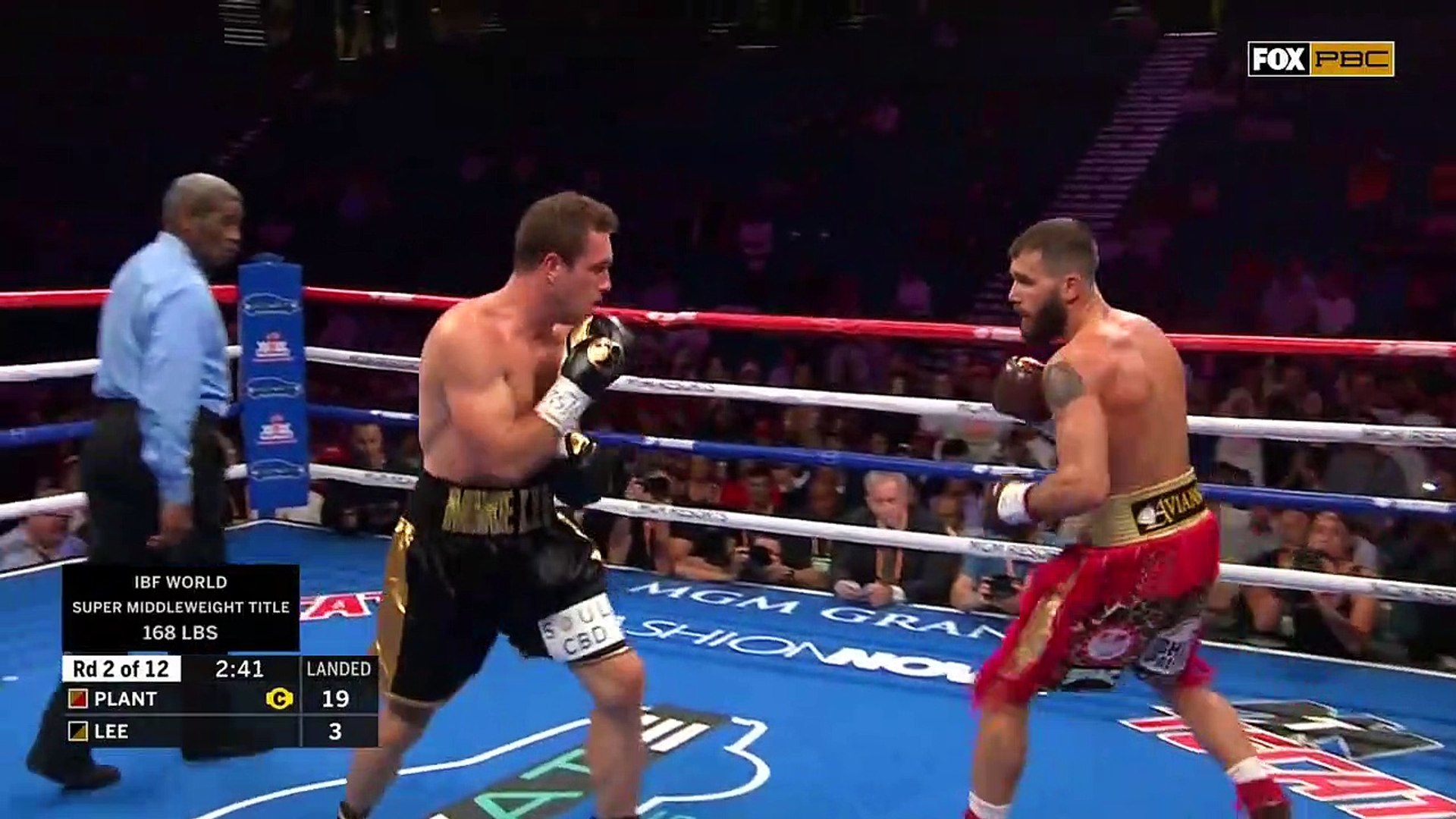 Caleb Plant vs Mike Lee [2019-07-20]