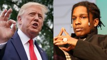Trump Offers to 'Personally Vouch' for A$AP Rocky's Bail