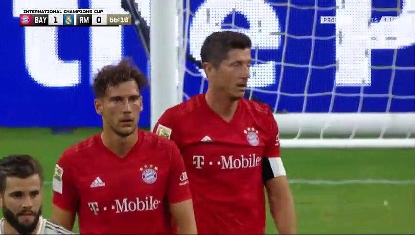 Robert Lewandowski Goal - Bayern 2-0 Real Madrid (Full Replay)