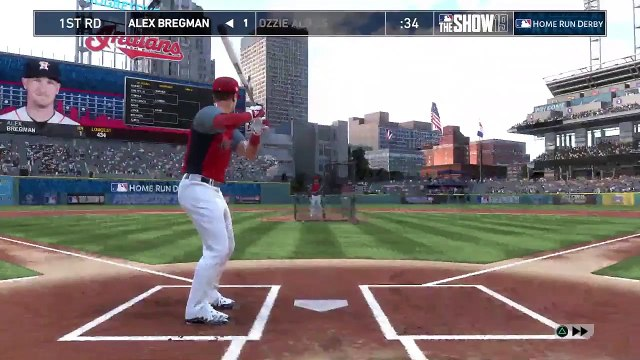 MLB The Show 19 Home Run Derby Gameplay