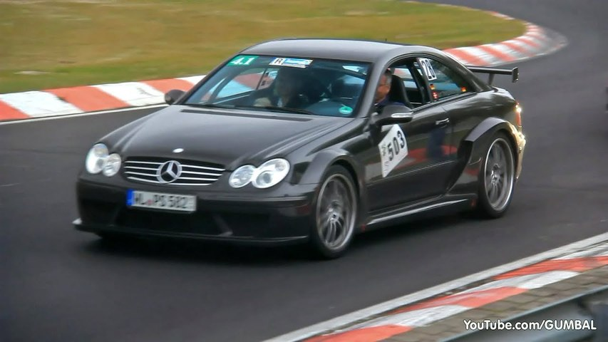 Decatted Mercedes-Benz CLK AMG DTM - BRUTAL SOUND-