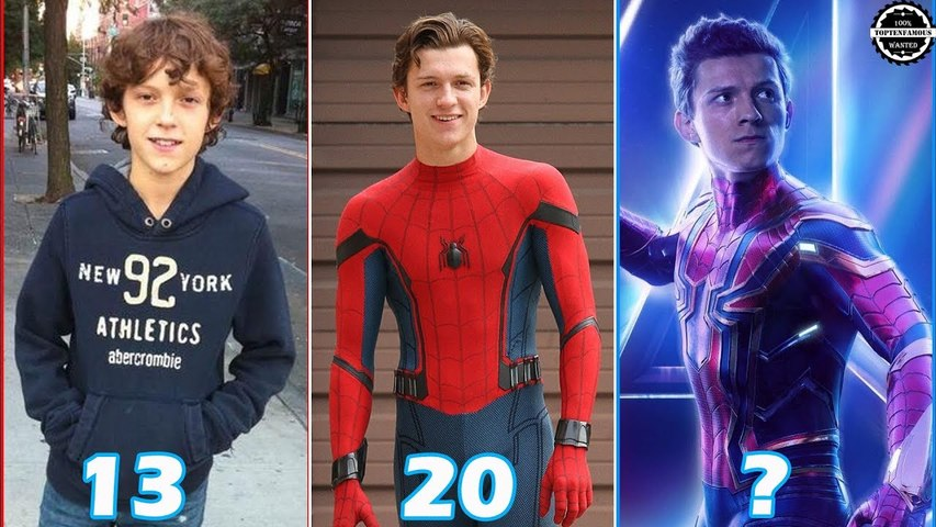 Tom Holland - Transformation From 0 To 22 Years Old