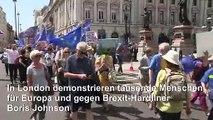 London: Massendemo gegen den Brexit