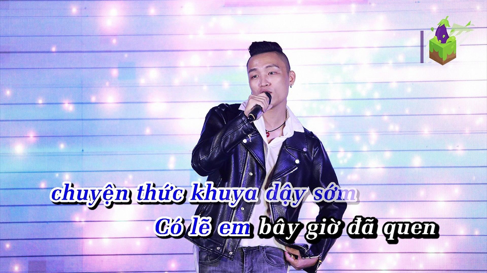 [Karaoke] Chờ Đợi Một Người Quá Khó Phải Không - Việt Thắng Idol [Beat]