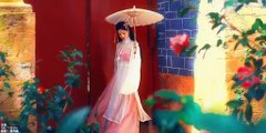 Beautiful Chinese Beauty Wears Chinese Traditional Clothes-Han Dress