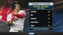 Rafael Devers Continues Month-Long Offensive Tear