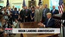 U.S. celebrates 50th anniversary of Apollo 11 moon landing