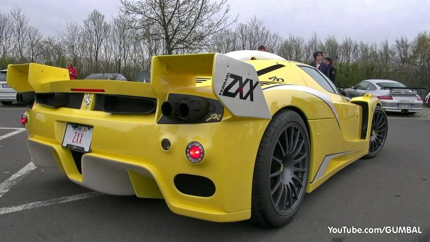 UNCUT: Ferrari Enzo ZXX Edo Competition by ZR Exotics- Full detail, Start up   Fly by-