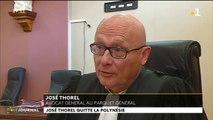 José Thorel quitte la Polynésie