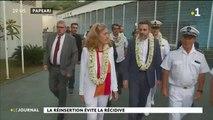 Visite officielle de Nicole Belloubet au Centre de détention de Tatutu