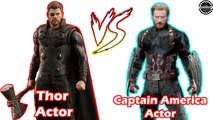 Chris Hemsworth vs Chris Evans -Transformation From 8 to 37 Years Old