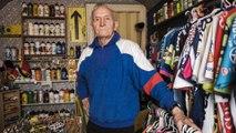 Christian, 80 ans, collectionneur d'objets du Tour de France