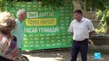Législatives en Ukraine : une majorité de candidats novices en politique