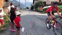 Belleville : À 23 km de l'arrivée, les coureurs encouragés