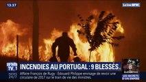 Portugal: plus de 1000 pompiers luttent contre des feux de forêts dans le centre du pays