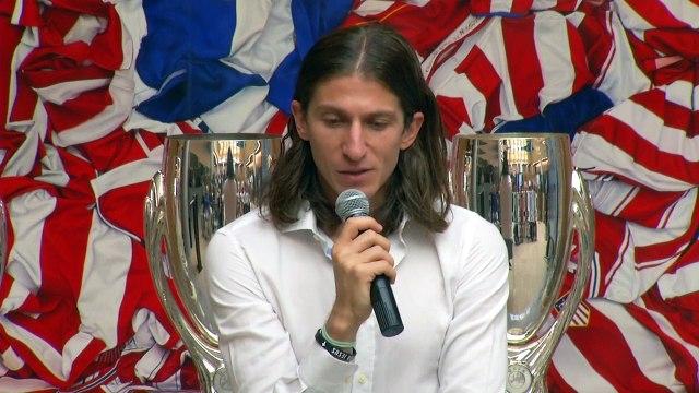 Filipe Luis announces Atletico exit