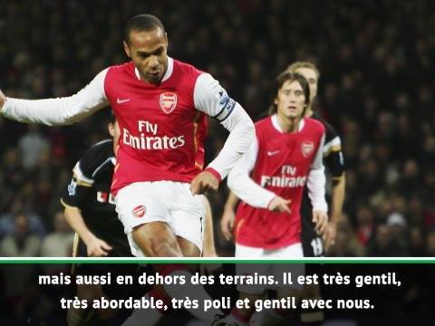 "Arsenal - Nketiah : ""Henry et Wright  sont mes idoles"""