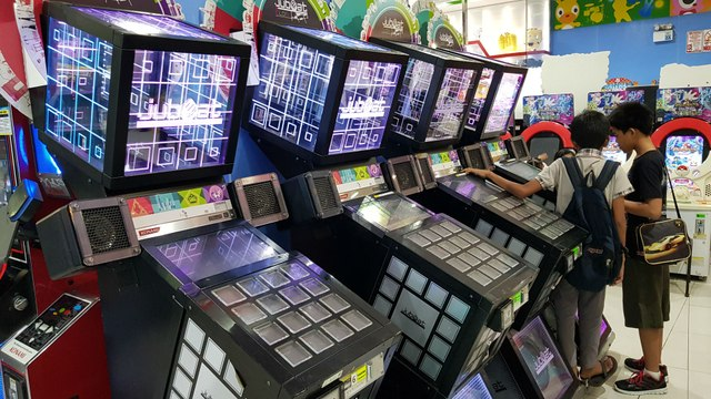 Jubeat, la recreativa musical