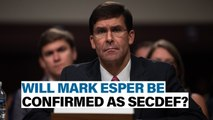 Will Esper be confirmed? | Defense News Weekly, July 19, 2019