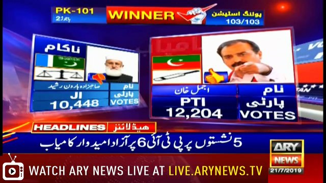 Headlines | ARYNews | 1800 | 21 July 2019