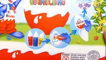 Easter Egg Painting Set with Kinder Surprise Eggs