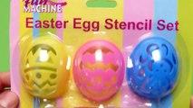 Easter Egg Decorating Stencil Set - Fun Machine Playset