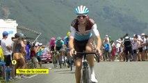 Tour de France 2019 - Romain Bardet en tête au sommet du Port de Lers