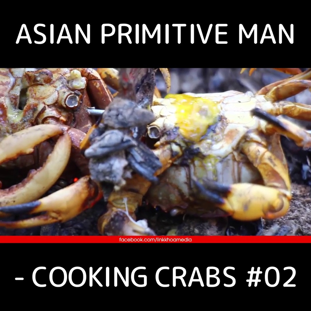 Asian Primitive Man – Cooking Crabs #02