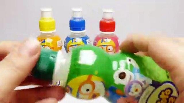 Pororo Fruit Drinks for Kids Apple, Tropical, Milk & Strawberry from Korea