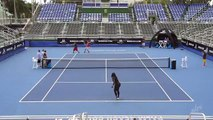 Tennis - Serena Williams meets Dude Perfect trick shots is unbelievable