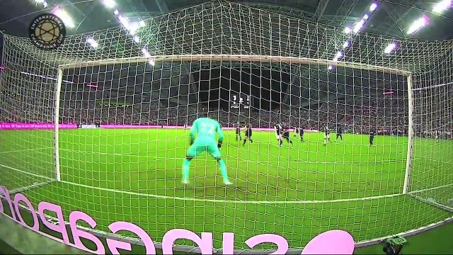 Kane scores from near halfway line against Juve