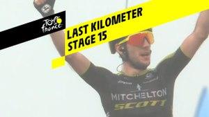 Last kilometer / Flamme rouge - Étape 15 / Stage 15 - Tour de France 2019