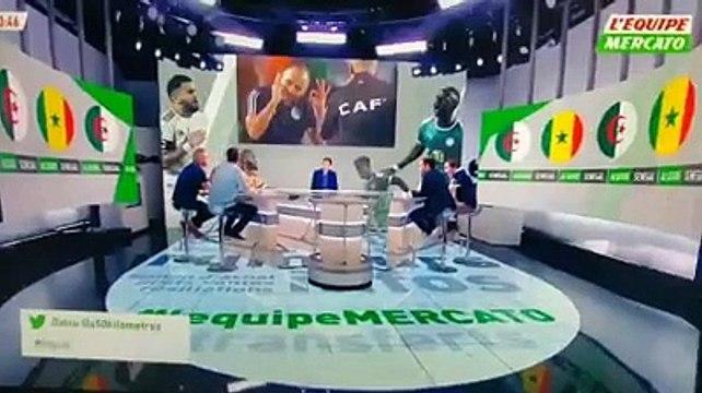 Senegal-Algerie : Arbitrage ! Escroquerie dans l'esprit du jeu